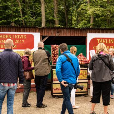 Äppelmarknaden på Must SM i Kivik!
