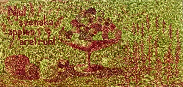 """""""Njut svenska äpplen, året runt!"""""""