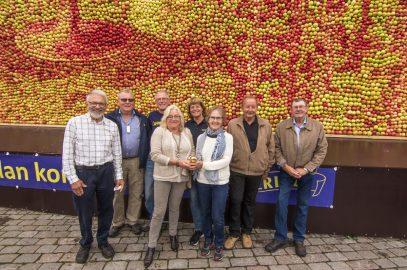 Årets Guldäpple tilldelades Äppelmarknaden i Kivik!