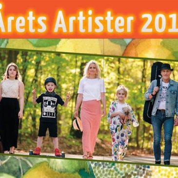 I år satsar vi på lokala artister!