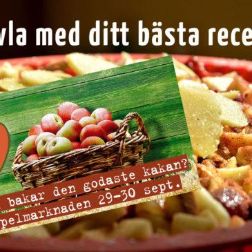 Tävling – Baka en kaka med svenska äpplen