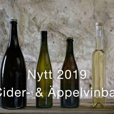 Ny dryckesupplevelse: Cider- & Äppelvinbar