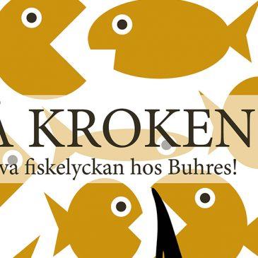 På kroken! Barnen kan prova fiskelyckan under Buhres äppelhelg den 25 till 27 September